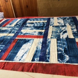 Quilt Top Red, White & Blue