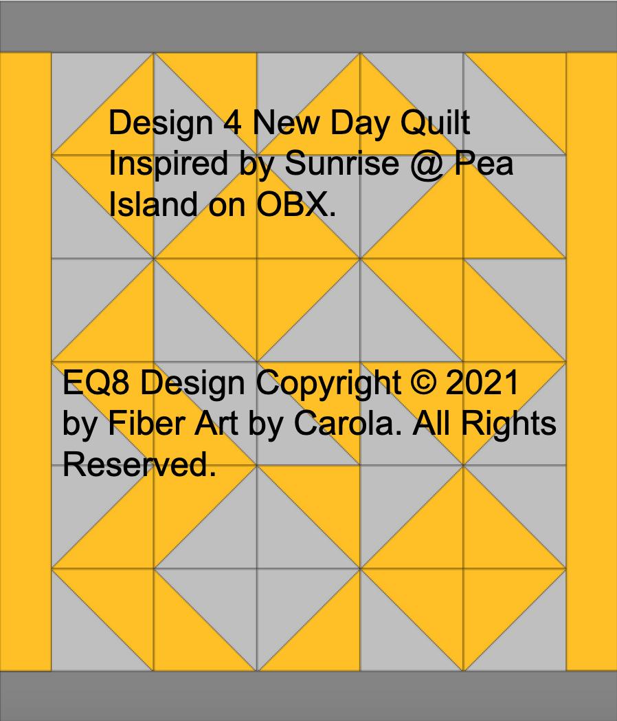 New Day Quilt Design